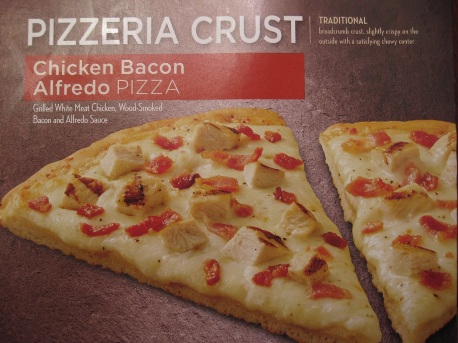 Safeway Select Chicken Bacon Alfredo Pizza